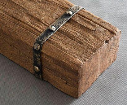 Sierbalk van hout