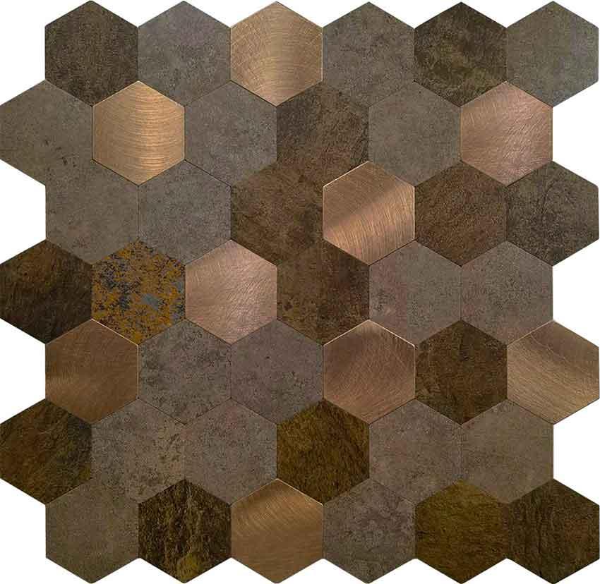 Mozaiek Hexagon